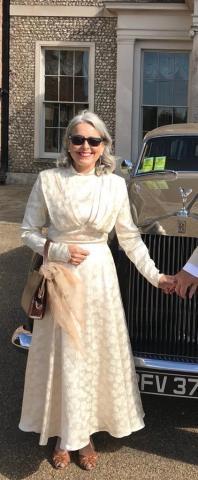 Vintage dress altered for Goodwood. (2018)